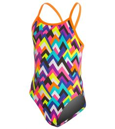 f2fb908345 Funkita Girls  Tip Top Single Strap One Piece Swimsuit at SwimOutlet.com - Free  Shipping