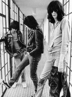 Punk: Los Ramones fueron una banda de punk formada en Forest Hills, en el distrito de Queens, Nueva York, Estados Unidos, en el año 1974, y disuelta veintidós años más tarde, en 1996.