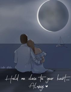 Love quotes with images - Summer Hold Me Close to Your Heart Always Cards for Couples Cards Anniversaries Love Cards Romantic Cards Miss You Cute Love Images, Love Quotes With Images, Cute Love Quotes, Love Quotes For Couples, Love Pics, Cute Couple Images, Couple Quotes, Couple Pictures, Love Cartoon Couple