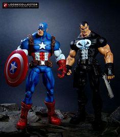Captain America (stylized) (Marvel Legends) Custom Action Figure