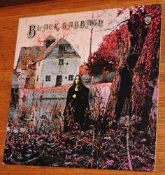 Black Sabbath Black Sabbath LP Vinyl Record  #BlackSabbath