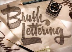 Brush Lettering by Ken Barber