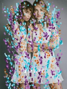 Artist Michael De Feo Transforms Fashion Ads with Flowers Art Photography, Fashion Photography, Instagram Accounts To Follow, Patrick Demarchelier, New York Street, Street Artists, Mixed Media Art, Diy Art, Flower Power