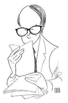 Al Hirschfelds Signature Spot The Nina Hirschfeld Is