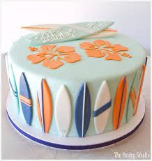 Image result for surfboard cake More