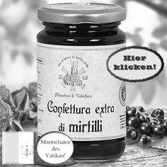 Herrlich fruchtige Heidelbeerkonfitüre! Hier klicken: http://blogde.rohinie.com/2013/01/honig/ #Vatikan #Konfituere #Marmelade #Heidelbeer