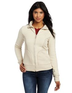 prAna Women's Tobi Zip Up Jacket by prAna. $78.82. Contrast stitching. polyester. Long sleeve full zip jacket. Rib insets and collar. Heathered sweater knit fleece with wicking properties. prAna Living