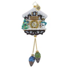 "Christopher Radko Ornament - ""Alpine Chime Time"""