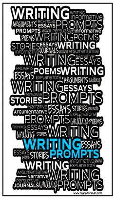 Links to Tons of Writing Prompts for Teens
