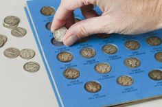 Here is a list of coin collecting supplies that you will need to get started so that your coin collection is properly stored and maintained.