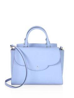 KATE SPADE Makayla Scalloped Leather Satchel. #katespade #bags #shoulder bags #hand bags #leather #satchel #lace #