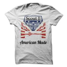 American Made Scout 2 - #white shirt #mens t shirt. PURCHASE NOW => https://www.sunfrog.com/Automotive/American-Made-Scout-2.html?id=60505