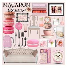 """""""Macaron Decor"""" by randomfashioncollections ❤ liked on Polyvore"""