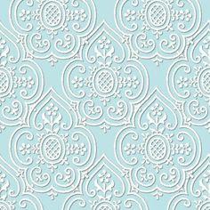 Rlace_medallion_ikat lace wallpaper