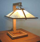 Prairie Designs - Spring Green Table Lamp (SG-1)