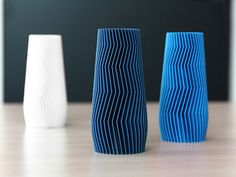 3D Printed Geometric Vase