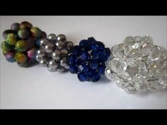 How to make a beaded ball - YouTube