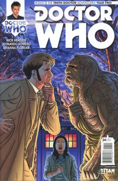 TITAN COMICS DOCTOR WHO TENTH DOCTOR YEAR 2 #7 MARCH 2016 VARIANT B NM