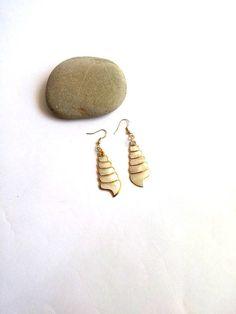 Sea Shell Earrings Handmade Earrings Dangle Earrings Boho