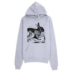 Flickr Bunny Rabbit Hoodie