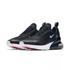 Buy Original Nike Air Max 270 Men's Breathable Running Shoes Sport 2018 New Arrival Authentic Outdoor Sneakers Designer Men's Shoes, Nike Shoes, Shoes Sneakers, Shoes Sport, Nike Air Max Mens, Nike Men, Baskets, Air Max 270, Running Shoes For Men