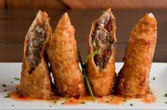 Recipe for cheesesteak egg rolls at Sullivan's Steakhouse