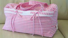 Sporttasche für Mädchen nähen  Ballett-Tasche   selbst gemacht   bestick...