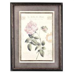 Floral Framed art