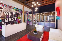 Chaotic Moon Studios in downtown Austin designed by Sixthriver Architects  Image Credits: Patrick Y. Wong