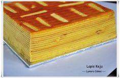 Lapis Cream Cheese     Bahan :  A. 25 bj kuning telur    5 bj putih telur   210 gr gula halus   100 gr top flour   1 sdm o...