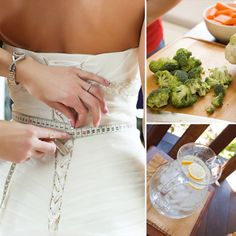 Wedding Detox Diet - tips for month/weeks before the wedding