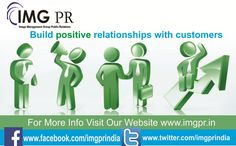Maintaining relationships is hard work! It's up to you to rise up to the challenge and start building positive relationships with customers!   For Public Relation Services, Contact IMGPR. www.imgpr.in  #pr #pragency #advertisment #digitalmedia #digitalmarketing #publicrelation #business #socialmedia #strategy #india #chandigarh #imgpr #imgprindia #trustedpragency #punjab #img #imgprchandigarh