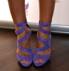 lavender heel sandals
