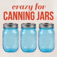 There's so much you can do with canning jars! Perfect for Fall crafts of all kinds!