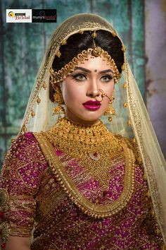 Bridal Makeup Shoot © AH. Bridal Makeup Looks, Indian Bridal Makeup, Bridal Beauty, Bridal Looks, Bridal Style, Asian Bridal, Bridal Makup, Wedding Makeup, Bridal Hair