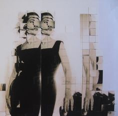 "Saatchi Online Artist claire Pestaille; Assemblage / Collage, ""The Doppelganger of Maria Callas (New York 1952)"" #art"