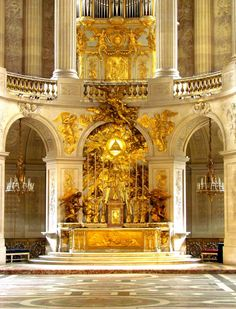 Palace of Versailles: chapel detail