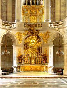 Palace of Versailles: chapel detail