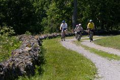 Biking at Shaker Village of Pleasant Hill in Harrodsburg KY | shakervillageky.org