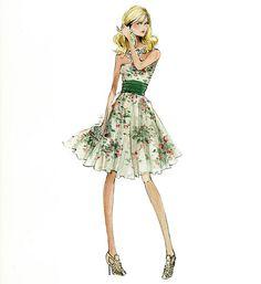 """Barbie Robert Best Print """"Garden Picnic"""""""