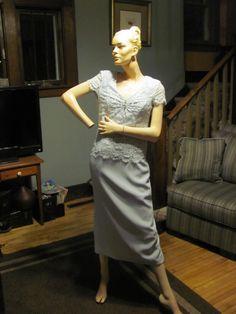 Mutter der Braut Kleid Größe 10 Vintage Patra von Mauirocksoup