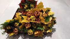 kytice z listí