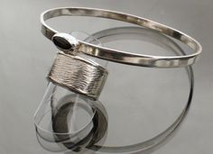 KatB Bangle And Ring, Sterling Silver - hallmarked Assay Office London