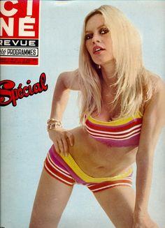 Brigitte Bardot on board the Riva Aquarama, 1968.