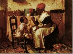 Information About African American Art | Ethnic African American Art Painting - Reproduction Print - Harry ...