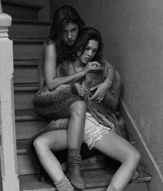 Léa Seydoux & Adéle Exarchopoulos by Mikael Jansson  for Interview