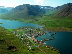 My home for many months - Olafsfjordur Iceland.