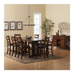 The Monaceli  Perfect For A Larger Dining Room And Family Prepossessing Large Dining Room Set Inspiration
