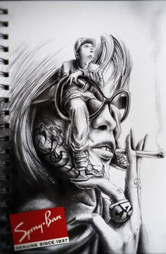 sketchbook drawings and illustrations by pez 8 Sketchbook Drawings and Illustrations by PEZ Sketchbook Drawings, Tattoo Sketches, Drawing Sketches, Sketching, Drawing Skills, Lowrider Art, Web Design, Chicano Art, Cool Sketches