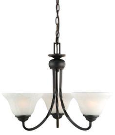 design house drake oil rubbed bronze 3light chandelier